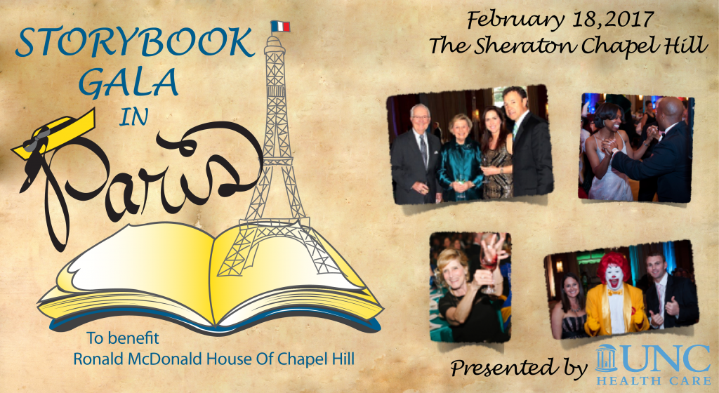 Storybook Gala in Paris