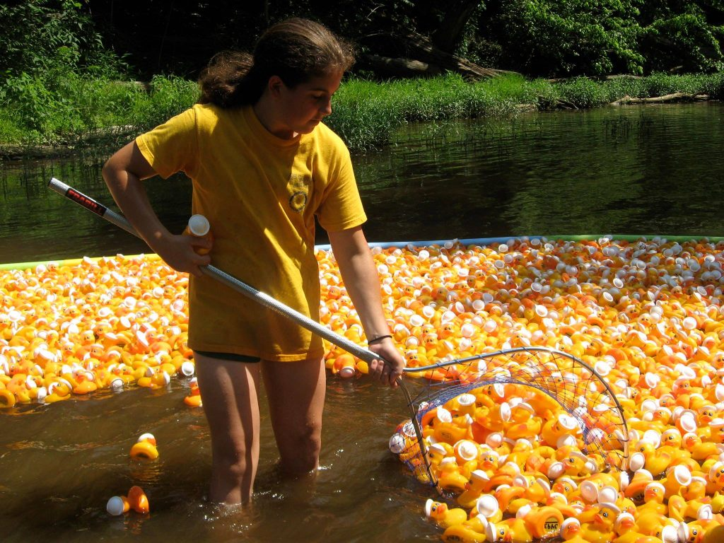 Chapel Hill-Carrboro Sunrise Rotary Club Annual Rubber Duck Race