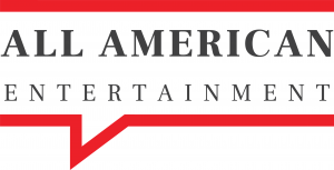 New All American Entertainment Logo - White Background