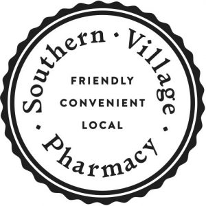 Southern Village Pharmacy Stamper Logo